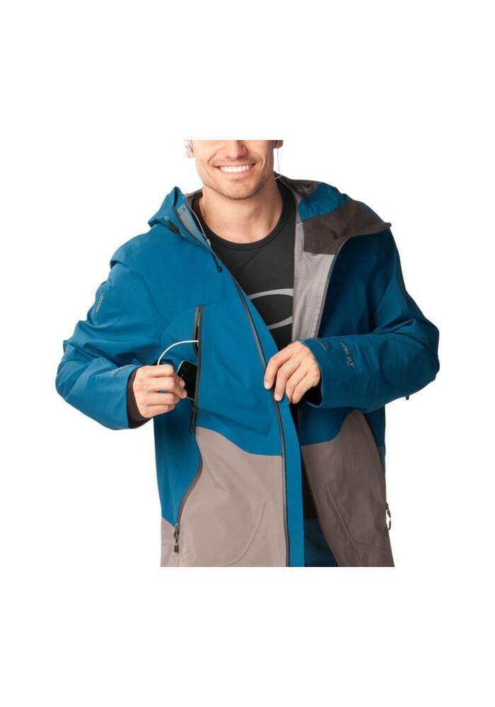 oakley solitude jacket mgar  Oakley M's Aircraft 3L Gore-Tex Jacket Moroccan Blue